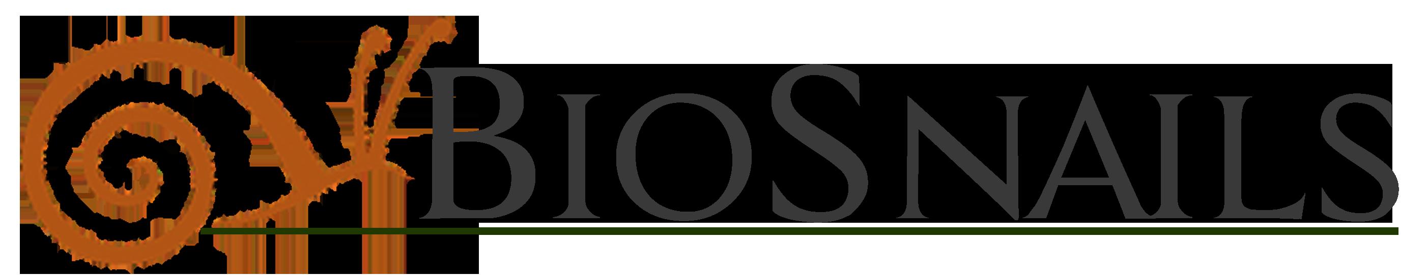 logo biosnails